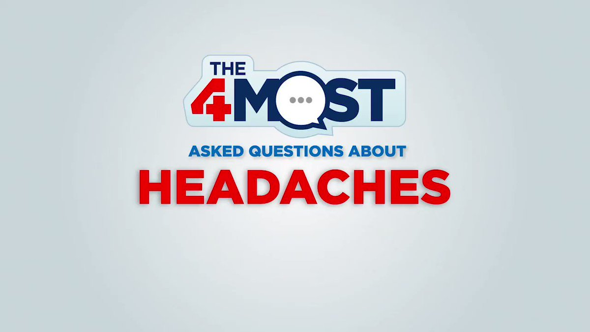 What are your biggest questions about #headaches? In this episode of The 4 Most, our expert Dr. Ashhar Ali answers some of the top-searched headache questions, from whether they're normal to when it's time to see a specialist. Learn more: http://ow.ly/CR3y30o7SBQ