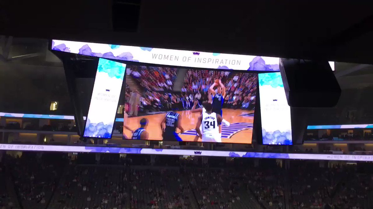 Kings put together a @swish41 tribute video. Nice.