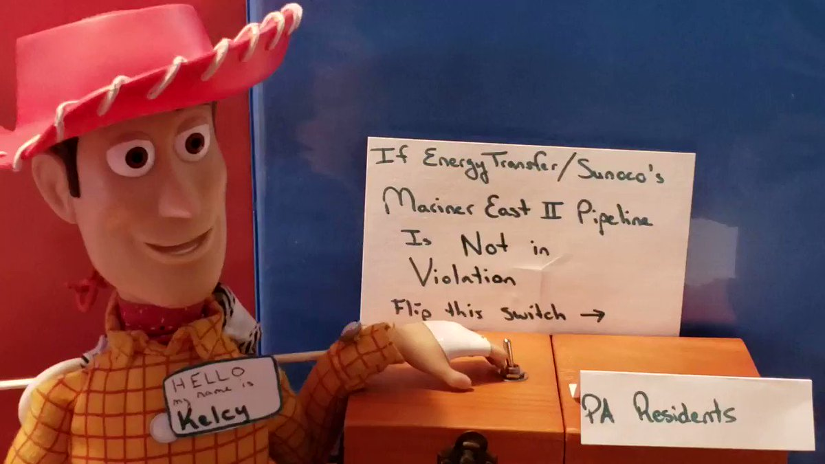 Hey cowboy, why you keep hitting that switch?! #VoicesOfMarinerEast