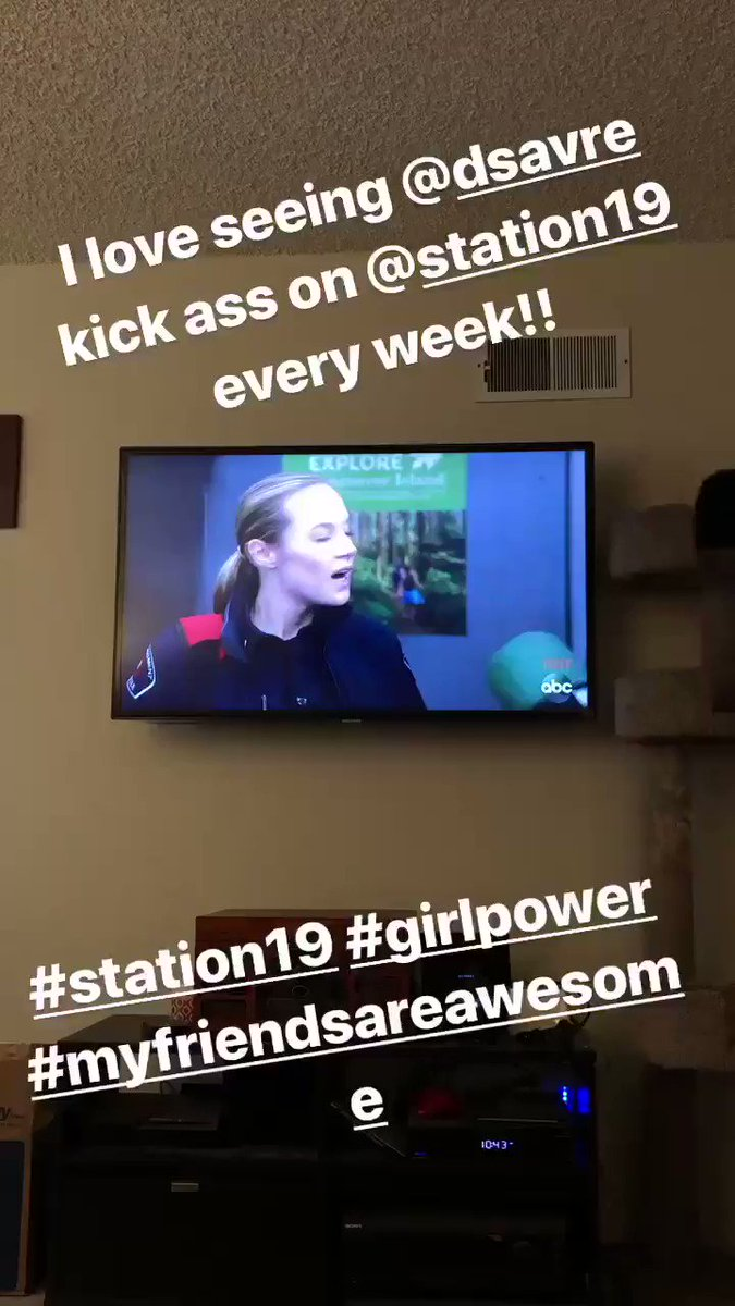 Alex Nester's photo on #station19