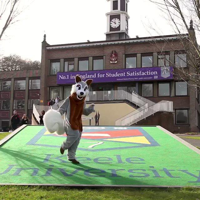 Keele University's photo on #friyay