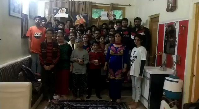 Respected PM @narendramodi ji, this is a small message from me and my students from Jammu who are so excited and happy to join #MainBhiChowkidar moment.  We all are proud of you and we all are chowkidars too.  #MeinBhichowkidar #ModiPhirSe #अबकी_बार_400_पार  #WeWantChowkidar