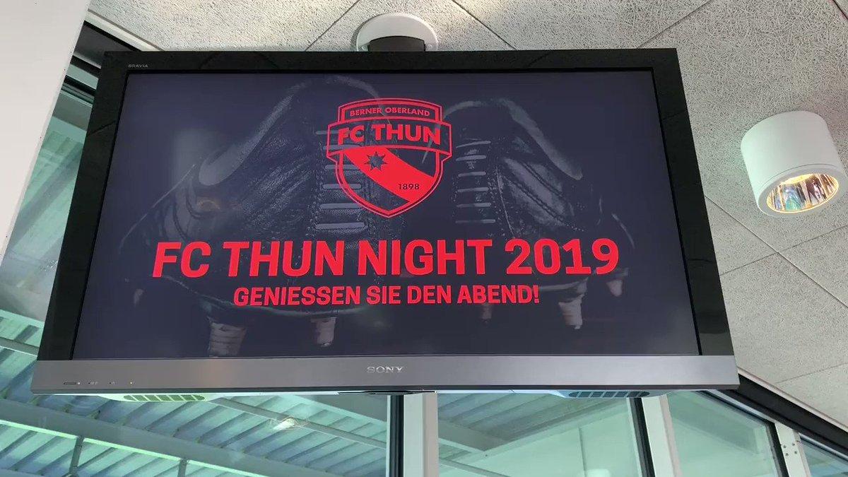 Heute Freitag findet in der Stockhorn Arena die FC Thun Night 2019 statt. Ein Blick hinter die Kulisse der Vorbereitungen am Nachmittag. #wahriliebi #FCTN19