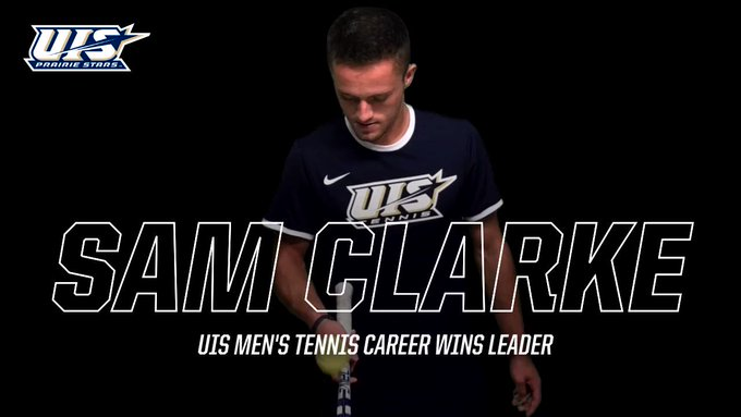 RT @UISAthletics: Congratulations to Sam Clarke, who became the school's all-time men's tennis wins leader (NCAA era) with his 6-0 doubles…
