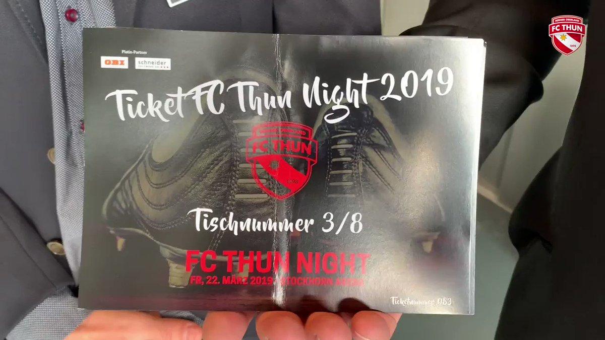 Die 5. FC Thun Night neigt sich dem Ende zu. Zauberer Lionel, Saxophonist Fabian Capaldi, ein Überraschungsauftritt von Jesse Rich, eine musikalische Darbietung von Faivre, Tosetti und Ruberto sowie eine Riesen-Tombola bildeten die Highlights des Abends. ✨ #wahriliebi #FCTN19