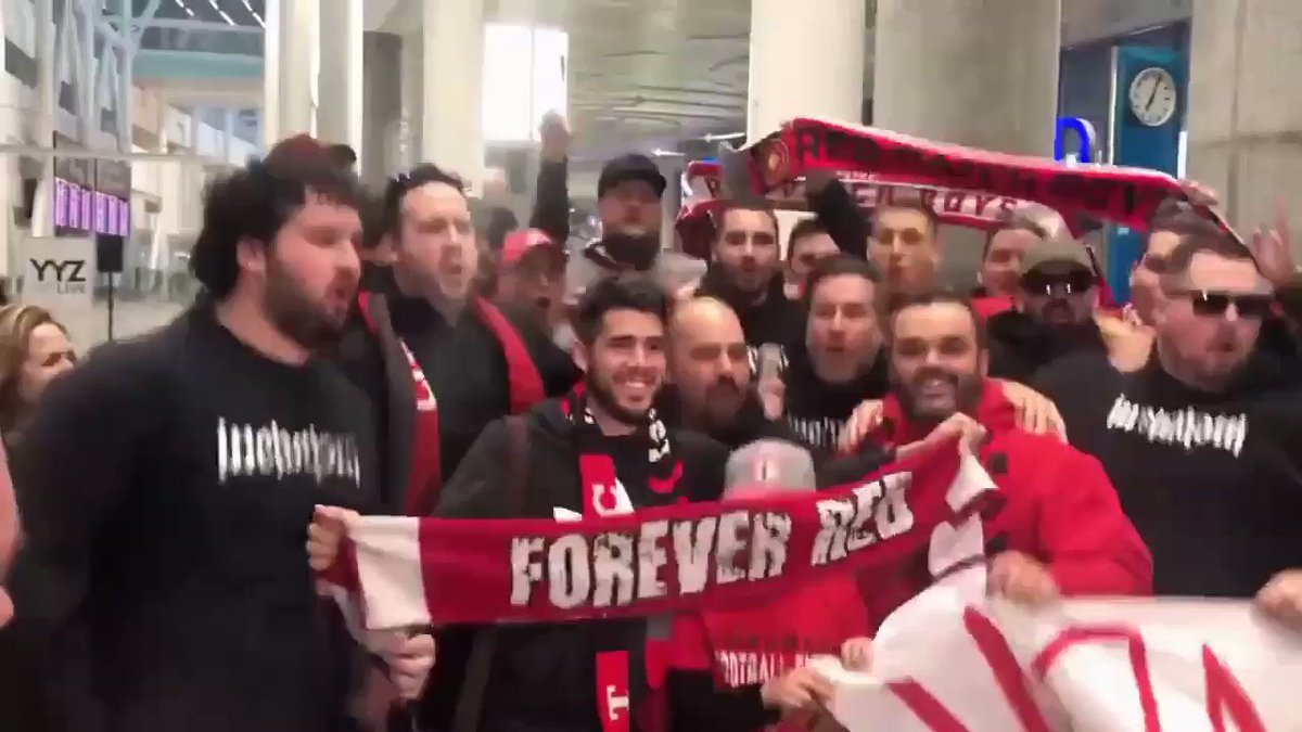 We're proud to welcome thousands of newcomers to Canada each year. Today we welcomed @pozuelooficial to Toronto, and to #tfc! Bienvenido, Alejandro!