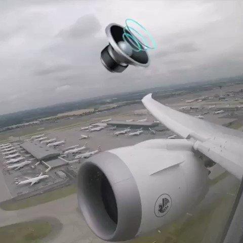 Imagen para el inicio del Tweet: Time-lapse del despegue de Boeing B787