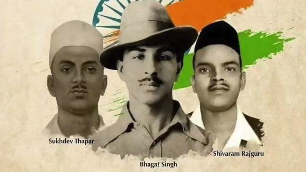 A tribute to my role model, the greatest hero of all times... Amazed that such men walked the earth in flesh and blood! Salute to the institution of inspiration #BhagatSingh