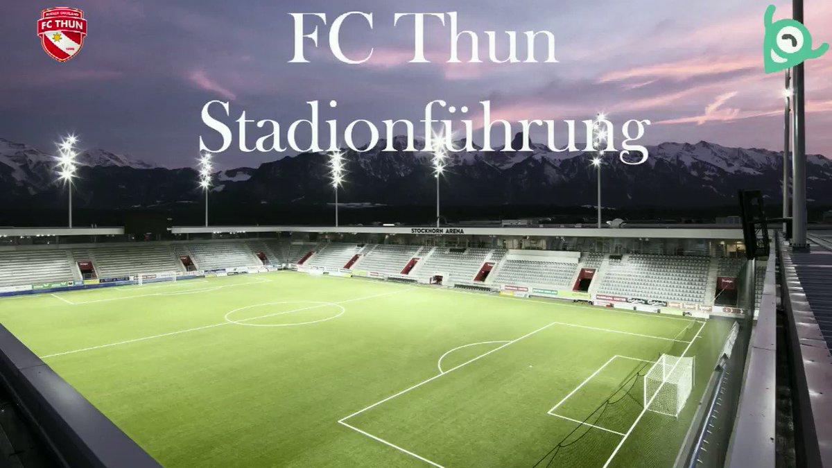 Komm mit den Jugendreportern auf Stadion-Tour durch die Stockhorn Arena! ⚽️🥅📹📷 #wahriliebi #famdaythun #jurep