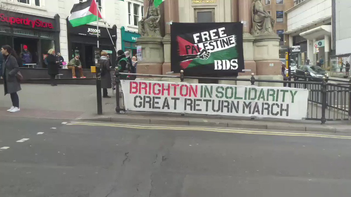 #Brighton for #Palestine