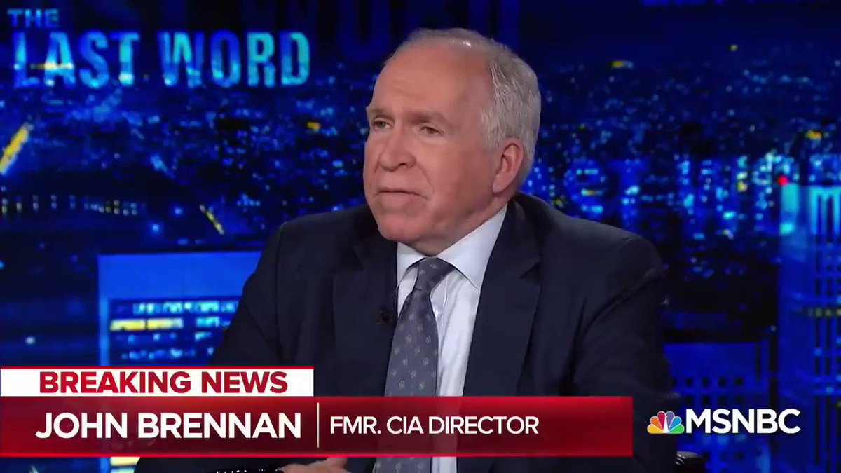 John Brennan has a lot to answer for—going before the American public for months, cloaked with CIA authority and openly suggesting he's got secret info, and repeatedly turning in performances like this.