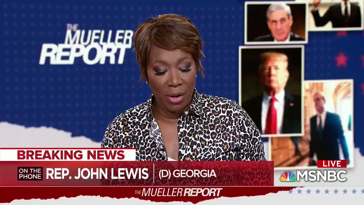 """Democrat John Lewis thinks @realDonaldTrump is """"not a legitimate president"""" no matter what Mueller report says.  For Democrats, this investigation has never been about seeking the truth.  It has always been about their political agenda against the President."""