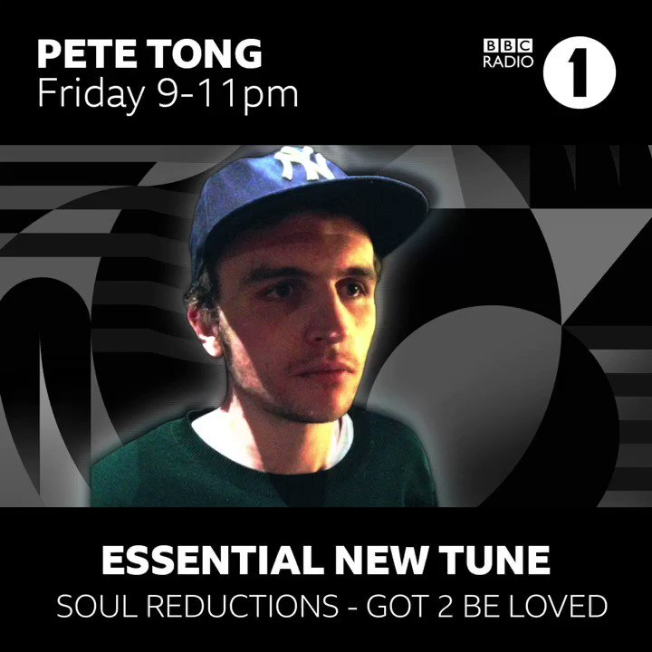 Thanks to @petetong for making this track his #essentialnewtune on his Friday Show 🎶  Listen back: bbc.co.uk/programmes/m00…  'Got 2 Be Loved' drops April 12th.