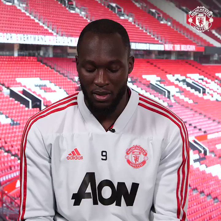 """""""I was destined to play football.""""   It's always been about ⚽ for @RomeluLukaku9! #MUFC"""