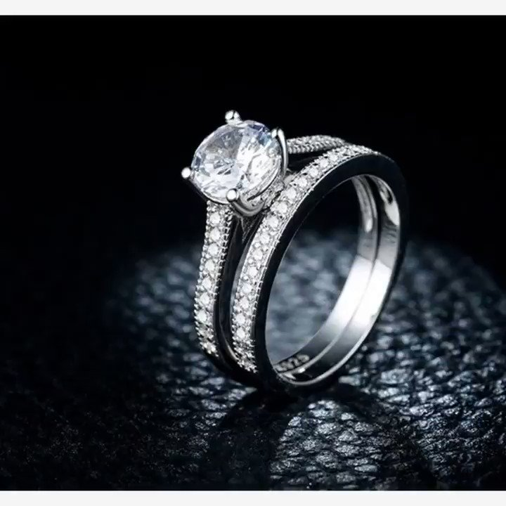 ⭐Beautiful Silver Diamond Rings⭐ 🥈925 Sterling Silver🥈  😱 FREE Worldwide Shipping😱  💳 SSL Encrypted Checkout💳  🛒➡️ LINK HERE 🛒➡️https://bit.ly/2FnVtlH  #GoldSphynx #goldsphynxarts #Rings #Diamond #Wedding #Luxury #silver #925 #sterling #Gift #jewelry #love #