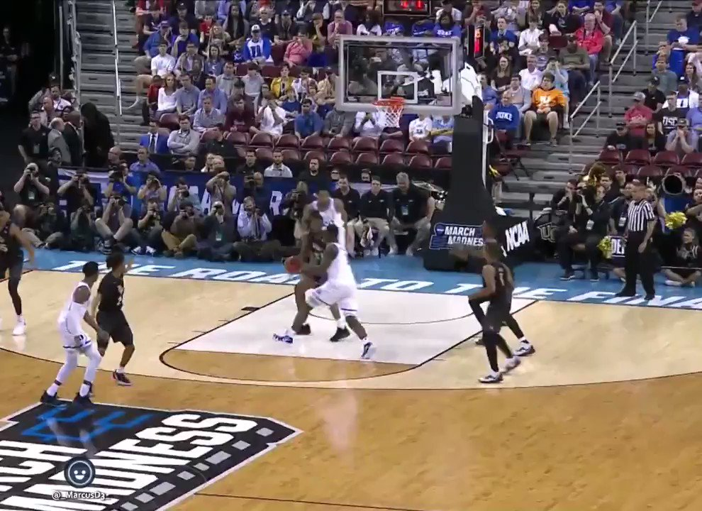 CBS cameras capture Zion Williamson rolling his ankle against UCF