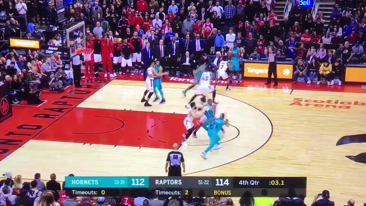 You have just witnessed the most absurd NBA buzzer beater in a long time  Jeremy Lamb keeps the Hornets in playoff race with THIS