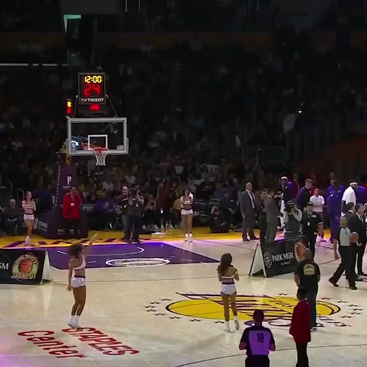 Half-court shot for $45,000 ... SWISH 💸