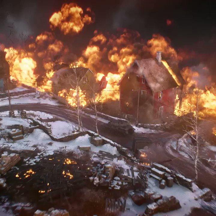 The flames are closing in. Drop into #Battlefield V: Firestorm now. https://t.co/8xtbDG9PwA https://t.co/WWICabbXRe