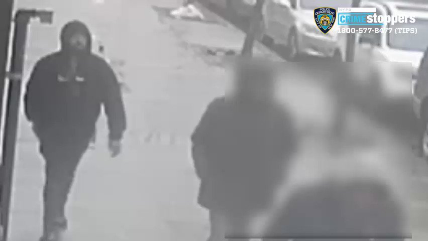 🚨WANTED for FORCIBLE TOUCHING: Male with goatee, wearing all black. On 3/10 at 8:00 am, on the corner of Livonia Ave and Rockaway Ave in Brooklyn, the suspect repeatedly slapped the victims buttocks and grabbed her chest before fleeing. Any info, call @NYPDTips at 800-577-TIPS.