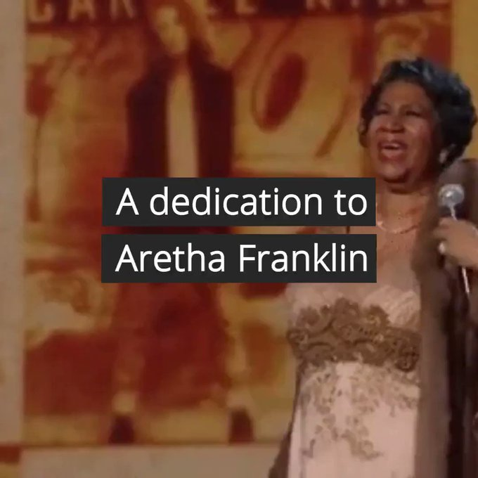 Aretha Franklin would have been 77 today! Happy Birthday to the Queen of Soul! What\s your favorite Aretha gif?!