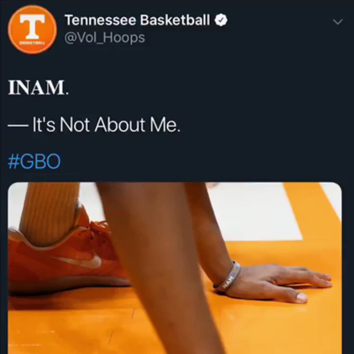 The way of @Vol_Hoops continues to inspire. What Admiral Schofield did  was courageous. I know we live in a world where ego gets our best but this kid was egoless.... that deserves praise. ✊🏾