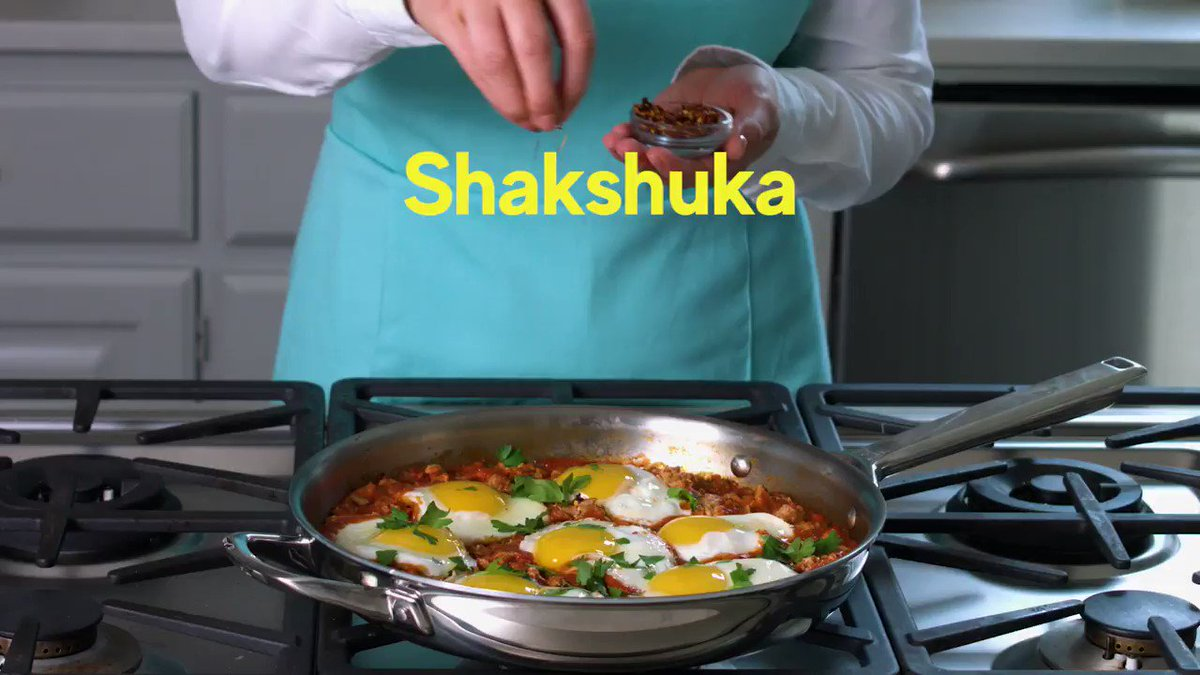 Image for the Tweet beginning: We've all heard of #Shakshuka.