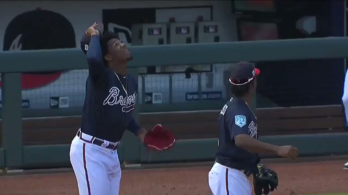 Ozzie and Ronald are bickering at SunTrust Park again.  All is right with the world.