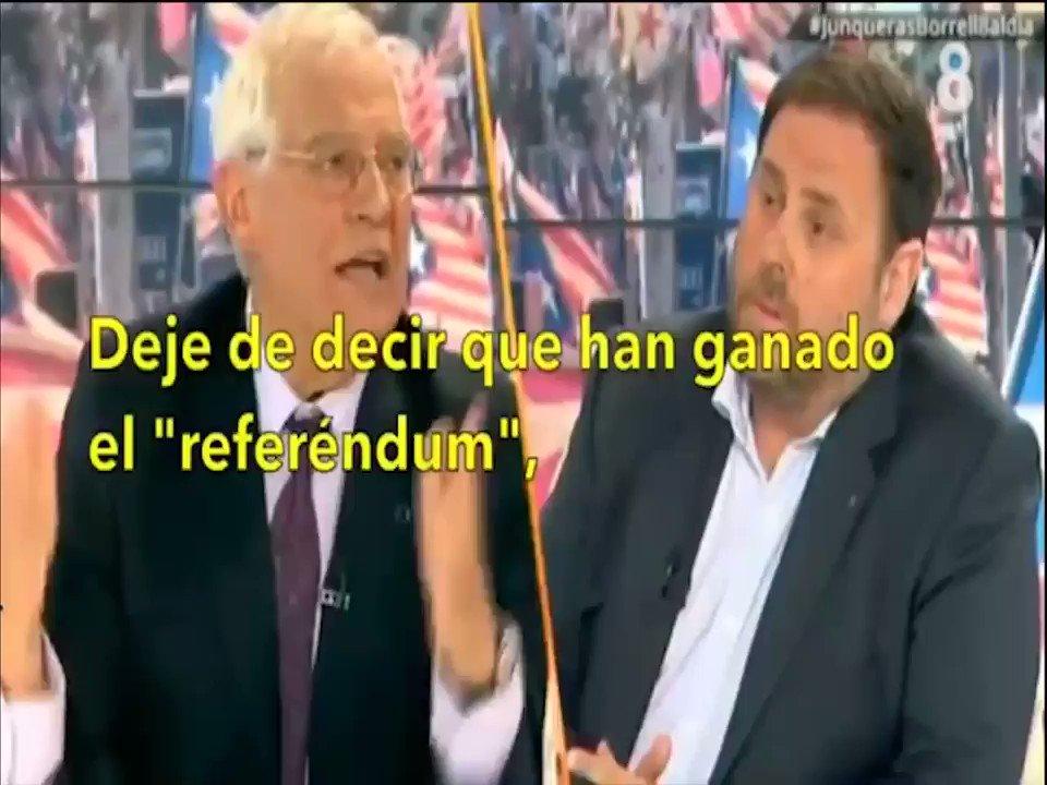 Desmontando el pacifismo separata según Junqueras y los líderes del procés. 📽️👇