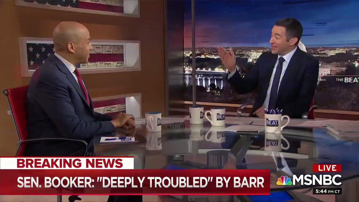 RT @TrumpWarRoom: Another #CollusionTruther ----> Democrat Cory Booker! https://t.co/EJ9xFZ5Gml