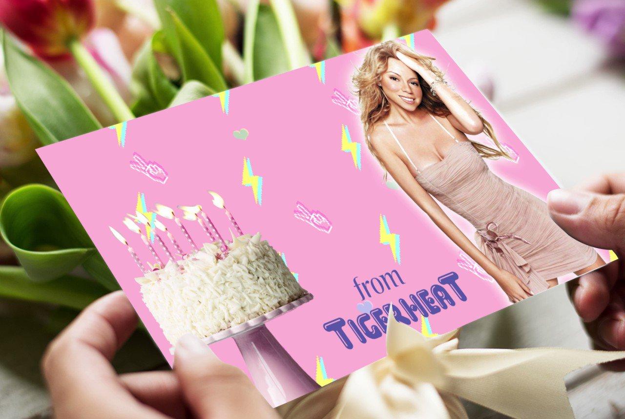 Wishing a very happy birthday to MARIAH CAREY today!