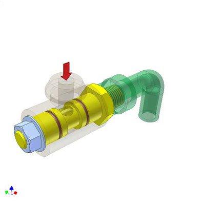 Rotary Connector for Fluid