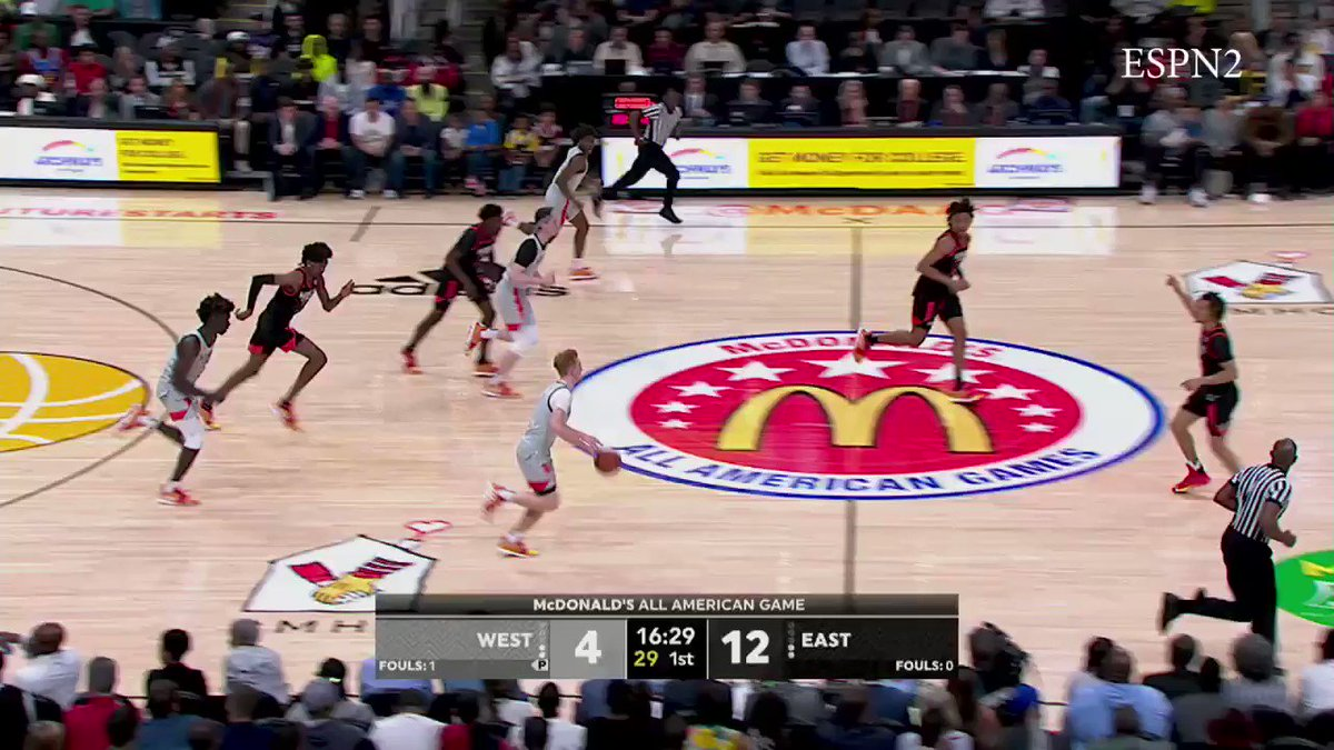 Tyrese Maxey highlights from the McDonald's All-American game. #WhereTheFutureStarts