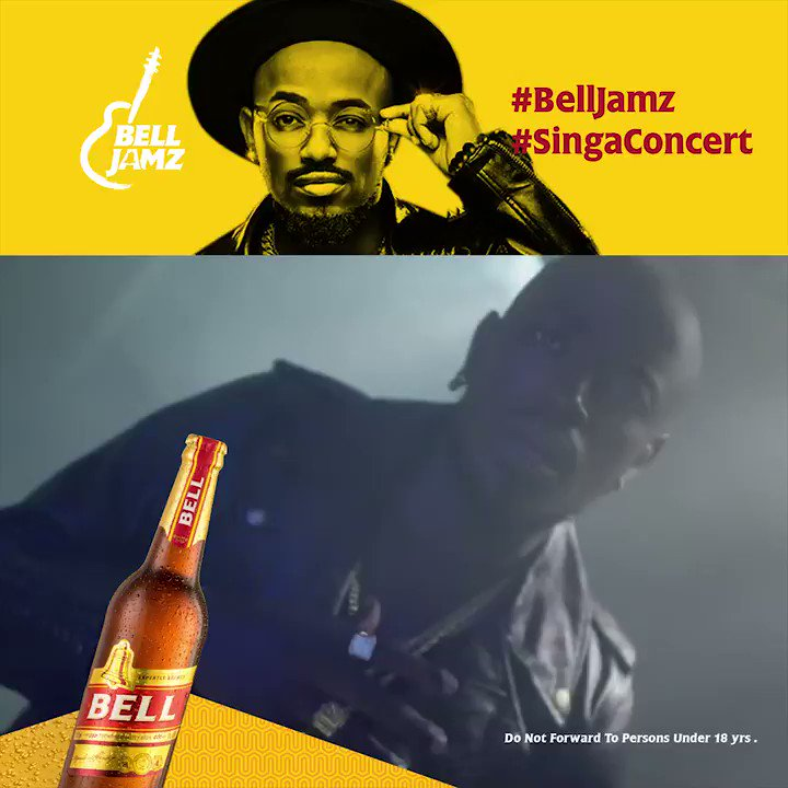 Show your bae you care about her by dancing to the sweet tunes of songs like Malaika tomorrow at the #BellJamz #SingaConcert . @YkeeBenda