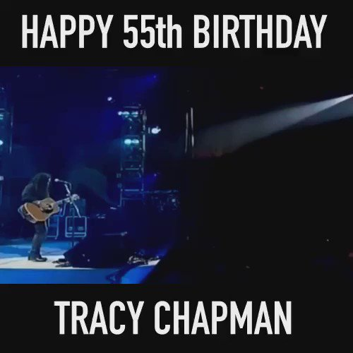 Happy Birthday Tracy Chapman