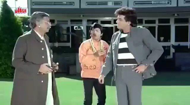 Namma #Rajanna dialogue in a Hindi movie 😊❤  What a beautiful description about #Annavaru 😊❤  @Jaggesh2