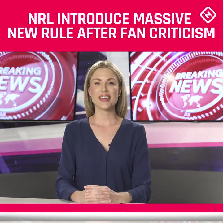 What do you make of the new rule? 🤔#NRL