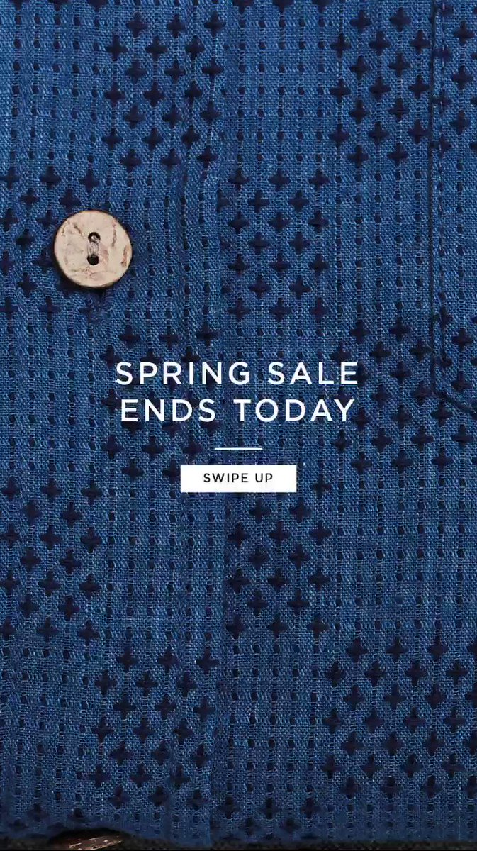 Spring sale ending at midnight tonight 👕🙋🏻‍♂️💸 bit.ly/PercivalSpring… #menswear #sale #samplesale #ootd