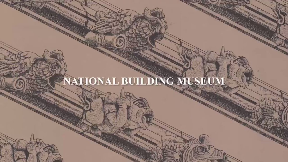 Lions and tigers and…griffins? Oh my!  We're home to 320,000 objects related to the built environment. Animals, Collected is a chance to explore some of the Museum's most unusual treasures through the lens of the animal kingdom. https://www.nbm.org/exhibition/animals-collected/…