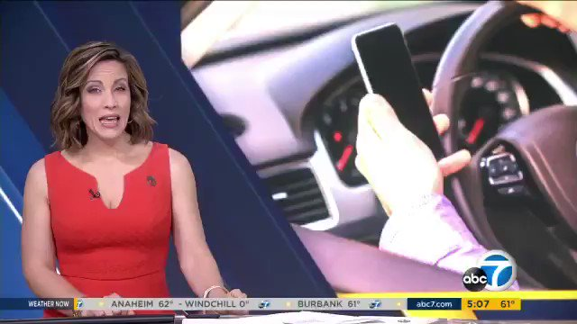 """This AM @ABC7: Heads up drivers! Extra officers are out looking for distracted drivers this month as part of """"Distracted Driving Awareness Month."""" #DistractedDrivingAwarenessMonth #cellphone #tickets #driving #Warning"""
