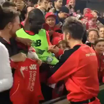Happy 30th birthday to Mamadou Sakho Remembering the time he got his shirt signed by Adam Lallana