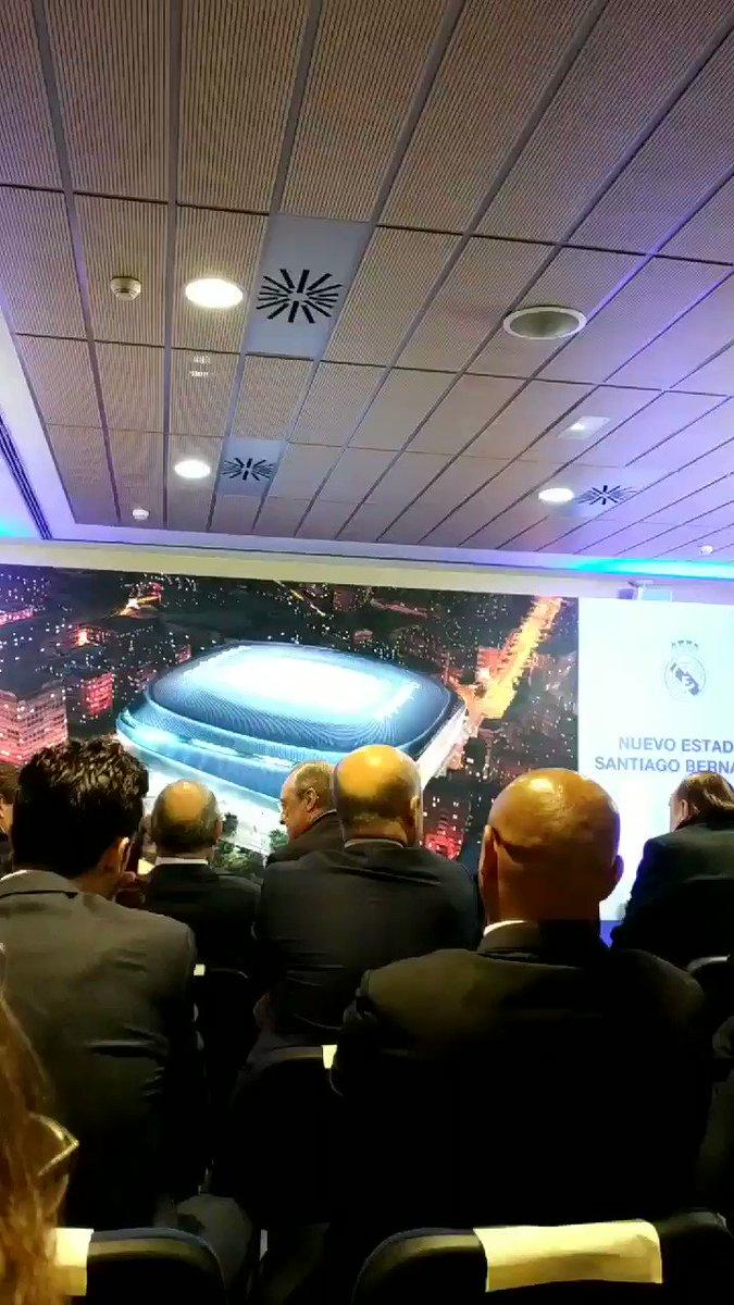 Nuestro proyecto de estadio ya está en marcha. La envidia del mundo. @realmadrid @RMSurDeFlorida @Madridista_CHI