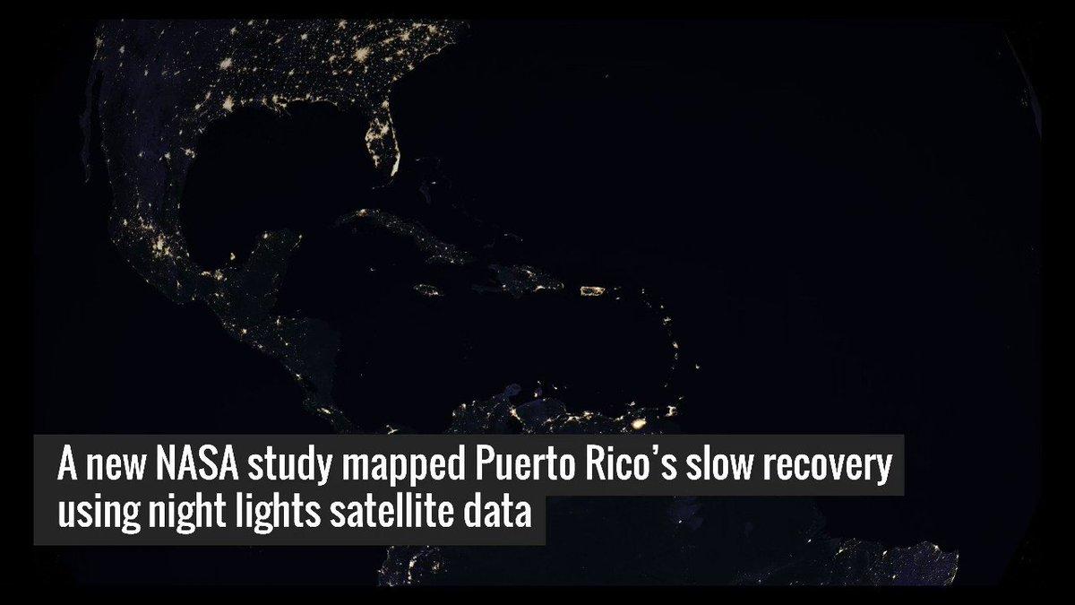 Watch the lights come back on after the longest electricity black-out in U.S. history https://t.co/09yt0ibKHR #HurricaneMaria #PuertoRico @openstreetmap @USGSLandsat #NASA #NASAViz https://t.co/t2gQ7KCgJ5