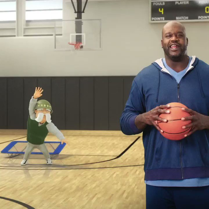 He may not be the best at dunking a basketball, but The General Insurance's coverage skills are amazing! Go to @TheGeneralAuto to get an easy and fast car insurance quote. http://bit.ly/2UHePc3 .