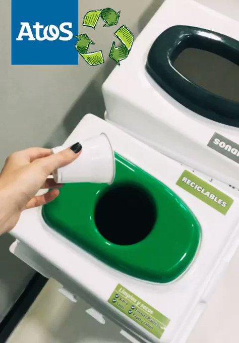 En 2019 iniciamos con el proyecto de separación de residuos en las oficinas. Bajo...