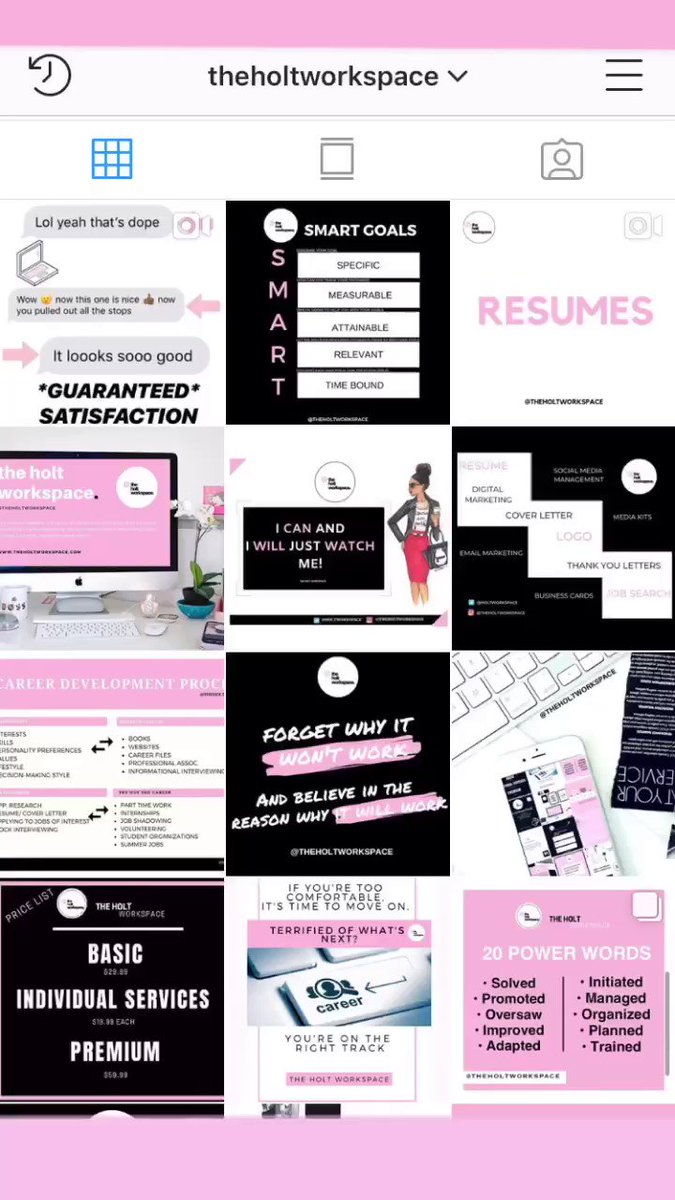 Does your resume and cover letter need some revamping? We got you! Oh, and be sure to follow us on Instagram! DM for a *FREE* consult today! ✍🏾💻✨ http://bit.ly/2SSxu7Z #careeradvice #resume #coverletter #brandstrategy #jobs #workspace #bossbabe #careeropportunities