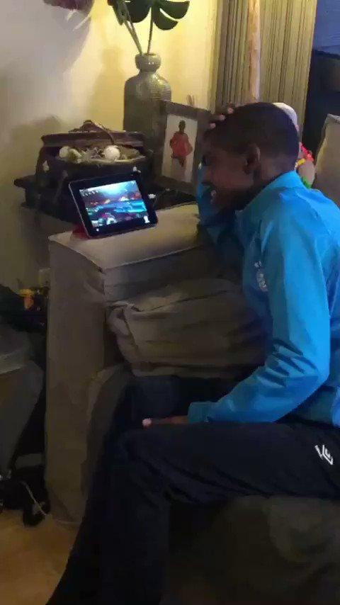 When Natan meets his idol @DenzelJMD2 🤗 #PSVPEC #MoreThanFootball
