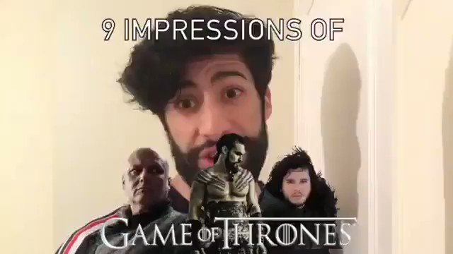 #GameOfThronesFinale   This guy just Perfected the Game of Thrones Characters. 😂😂😂  Which did he get the most?