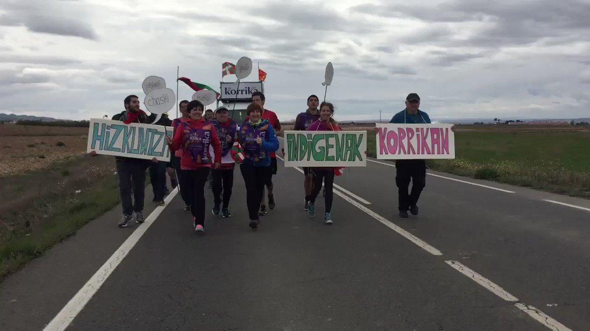 Jon Sarasuaren bertsoa Hizkuntza Indigenen Nazioarteko Urtearen #IYIL2019 kilometroetan. Hizkuntzen biziberritzearen #klika #korrika (1/4)