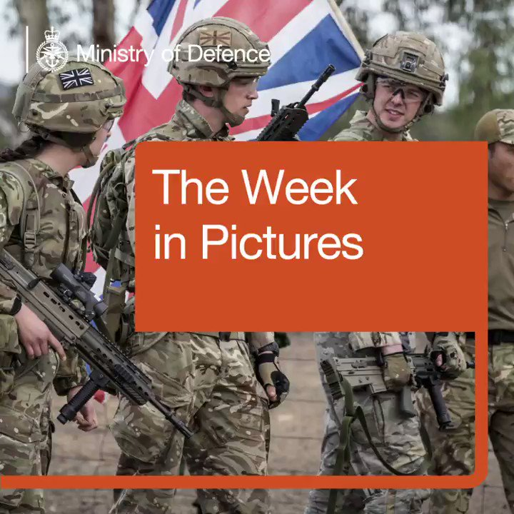 🎥 Watch the Defence Week in Pictures featuring the @RoyalNavy, @BritishArmy, @RoyalMarines & @RoyalAirForce 📷